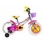 Bicicleta copii Dhs 1604 violet 16 inch