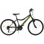 Bicicleta copii Kreativ 2404 negru galben 24 inch
