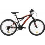 Bicicleta copii Dhs Terrana 2445 negru 24 inch
