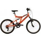 Bicicleta copii Kreativ 2041 portocaliu aprins 20 inch
