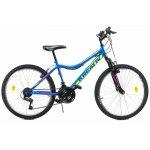 Bicicleta copii Kreativ 2404 albastru galben 24 inch