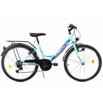 Bicicleta copii Kreativ 2414 turcoaz light 24 inch
