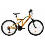 Bicicleta copii Kreativ 2441 portocaliu 24 inch