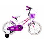 Bicicleta copii Venture 1618 alb 16 inch