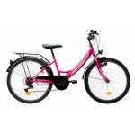 Bicicleta copii Venture 2418 roz 24 inch