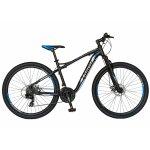 Bicicleta Mtb-Ht  27.5 Carpat Galaxy C2793B cadru aluminiu culoare negru/gri