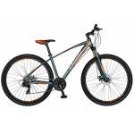 Bicicleta Mtb-Ht  29 Carpat Invictus C2957C cadru aluminiu transmisie culoare gri/portocaliu
