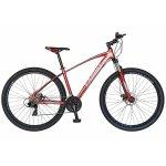 Bicicleta Mtb-Ht  29 Carpat Invictus C2957C cadru aluminiu transmisie culoare visiniu/alb