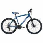 Bicicleta Mtb-Ht 26 Carpat Forester C2653B cadru otel culoare albastru/verde