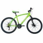 Bicicleta Mtb-Ht 26 Carpat Forester C2653B cadru otel culoare verde/albastru