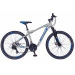 Bicicleta Mtb-Ht 26 Carpat Galaxy C2693B cadru aluminiu culoare gri/albastru
