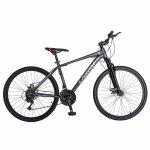 Bicicleta Mtb-Ht 26 Carpat Montana C2699A cadru auminiu culoare gri/rosu