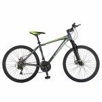 Bicicleta Mtb-Ht 26 Carpat Montana C2699A cadru auminiu culoare gri/verde