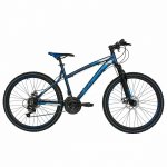 Bicicleta Mtb-Ht 26 Carpat Thunder C2654A cadru aluminiu culoare gri/albastru