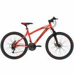 Bicicleta Mtb-Ht 26 Carpat Thunder C2654A cadru aluminiu culoare portocaliu/negru