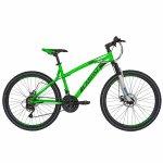 Bicicleta Mtb-Ht 26 Carpat Thunder C2654A cadru aluminiu culoare verde/negru