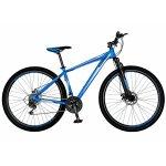 Bicicleta Mtb-Ht 29 Carpat Spartan C2958C cadru aluminiu culoare albastru/alb