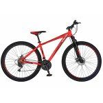 Bicicleta Mtb-Ht 29 Carpat Spartan C2958C cadru aluminiu culoare portocaliu/negru