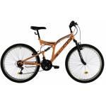 Bicicleta Mtb Kreativ 2641 M portocaliu deschis 26 inch