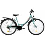 Bicicleta oras Kreativ 2614 M turcoaz 26 inch