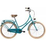 Bicicleta oras Dhs 2632 Citadinne M verde deschis 26 inch