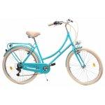 Bicicleta oras Dhs Citadinne 2634 M verde light 26 inch