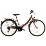Bicicleta oras Kreativ 2614 420 mm maro 26 inch