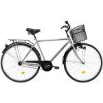Bicicleta oras Kreativ 2811 L argintiu 28 inch