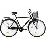 Bicicleta oras Kreativ 2811 M negru alb 28 inch