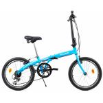 Bicicleta pliabila Supra Folding albastru 20 inch