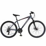 Bicicleta de munte Carpat C2670A roata 26 cadru aluminiu 21 viteze gri/rosu