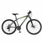 Bicicleta de munte Carpat C2670A roata 26 cadru aluminiu 21 viteze gri/verde