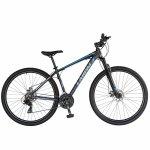 Bicicleta de munte Carpat C2970A 29 cu cadru aluminiu 21 viteze negru/albastru