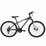 Bicicleta de munte Velors 2610A 26 frana disc 21 viteze gri/argintiu