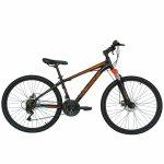 Bicicleta de munte Velors 2610A 26 frana disc 21 viteze negru/portocaliu