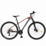 Bicicleta hidraulica Mtb-Ht Carpat C2989H 29 frane hidraulice Xpark 24 viteze gri/rosu