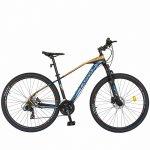 Bicicleta hidraulica Mtb-Ht Carpat C2989H 29 frane hidraulice Xpark 24 viteze negru/albastru