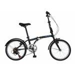 Bicicleta pliabila 20 Velors Advantage V2054B cadru otel culoare negru/albastru