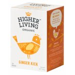 Ceai ginger kick eco 15 plicuri Higher Living