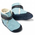 Cizme cu talpa moale Liliputi Eskimo Blue S 11,3 cm