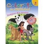 Colorati cu abtibilduri 2 Imagini din povesti