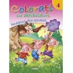 Colorati cu abtibilduri 4 Imagini din povesti