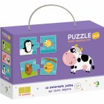 Duo Puzzle Hrana animalelor 2 piese