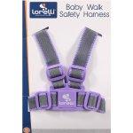 Ham de siguranta textil grey & violet