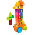 Jucarie de construit Mega Bloks Girafa cu numere