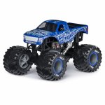 Macheta metalica Monster Jam Blue Thunder
