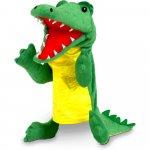 Marioneta de mana crocodil Fiesta Crafts