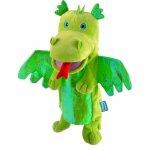 Marioneta de mana dragonul verde Fiesta Crafts