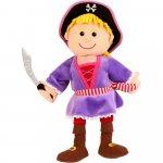 Marioneta de mana fata pirat Fiesta Crafts