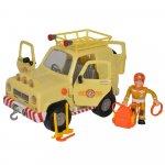 Masina Simba Fireman Sam Mountain 4x4 cu 1 figurina si accesorii